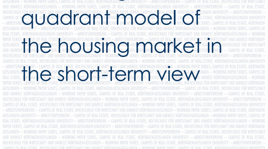 Introducing a six-quadrant model of the housing market in the short-term view